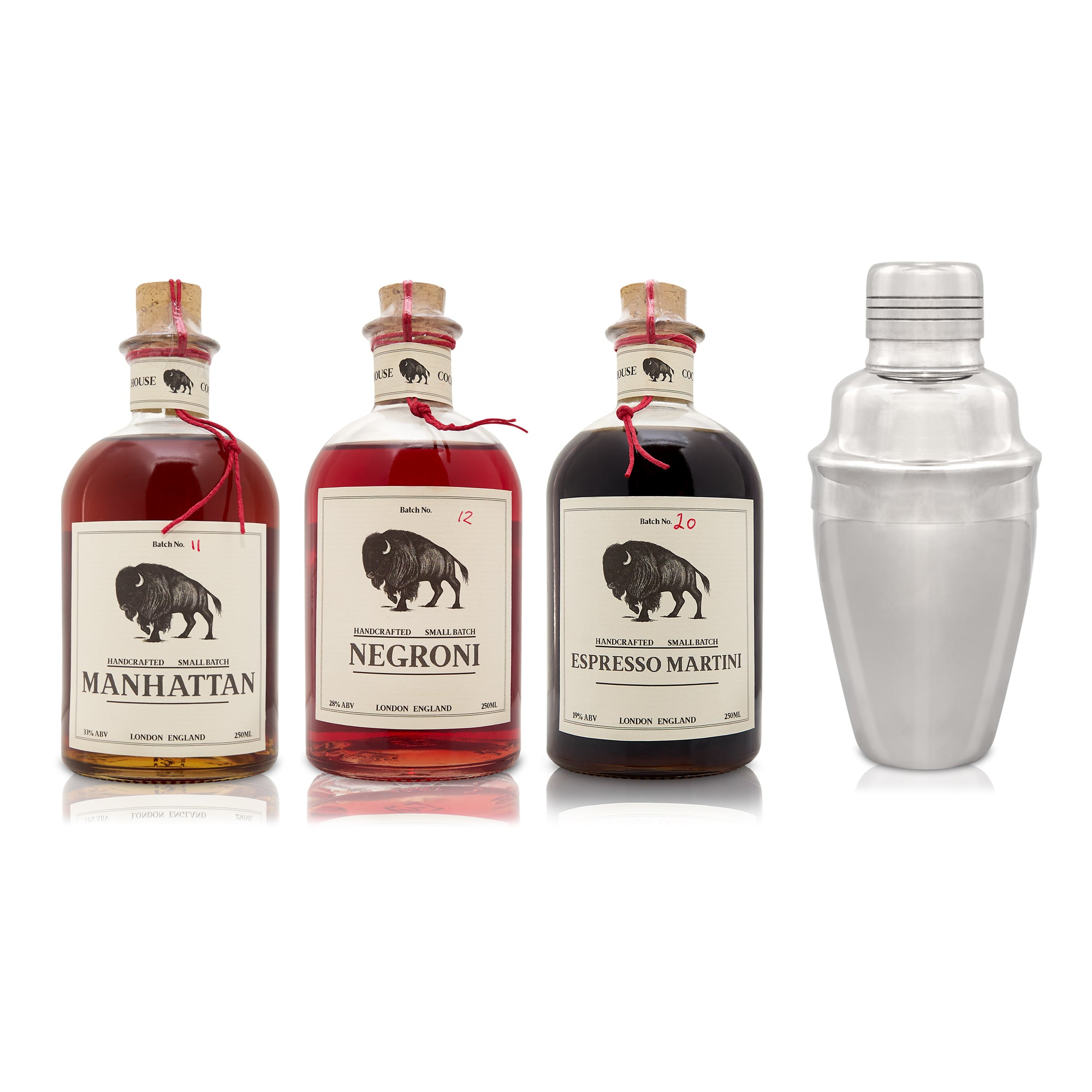Mixed Collection 250 ML (Complimentary Cocktail Shaker)
