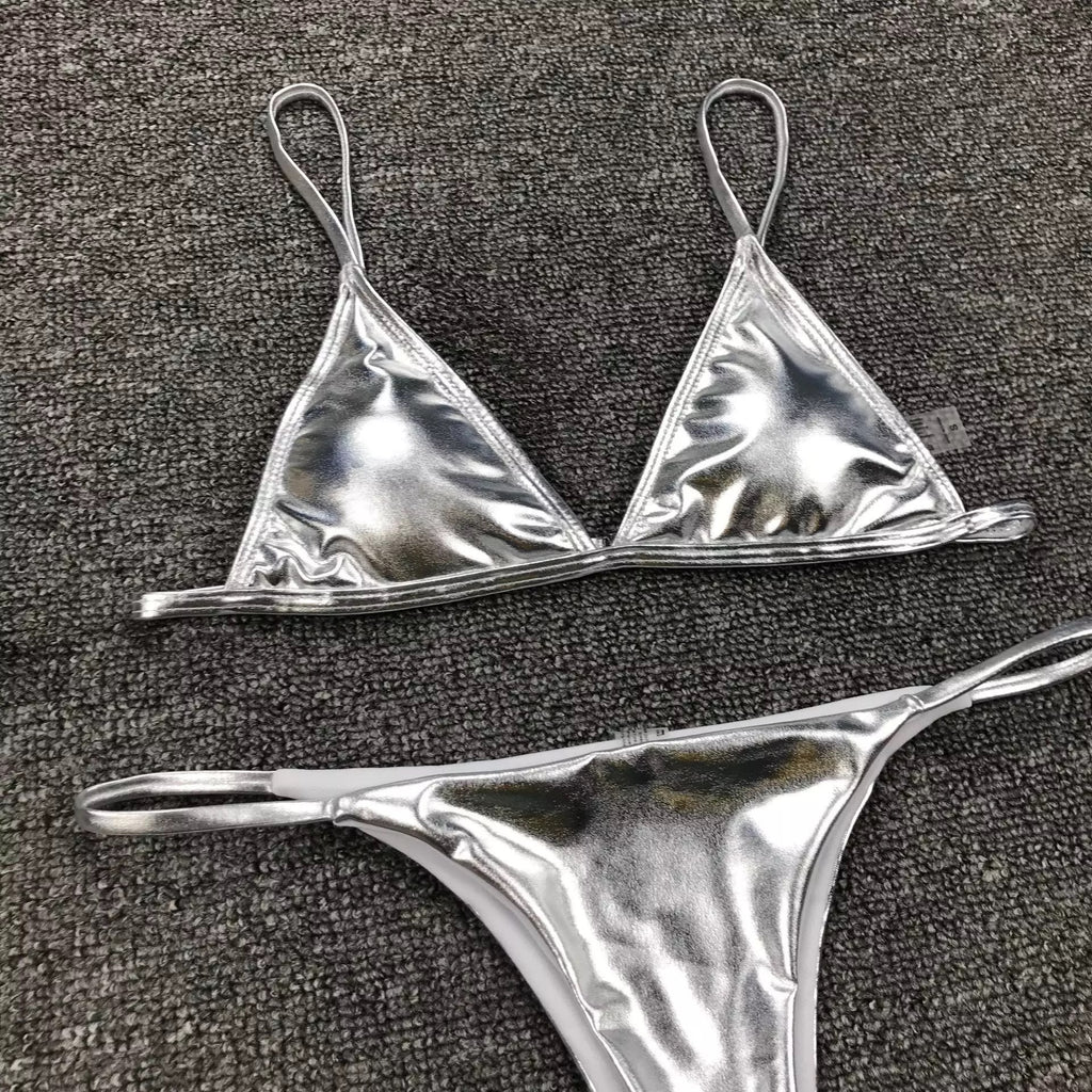 Metallic Swimsuit