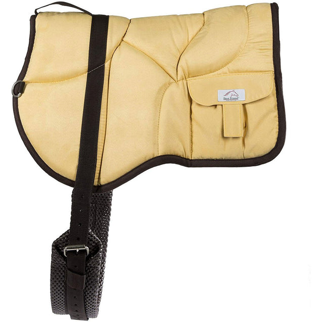 Best Friend Western Bareback Pad - Best Friend Equine tan