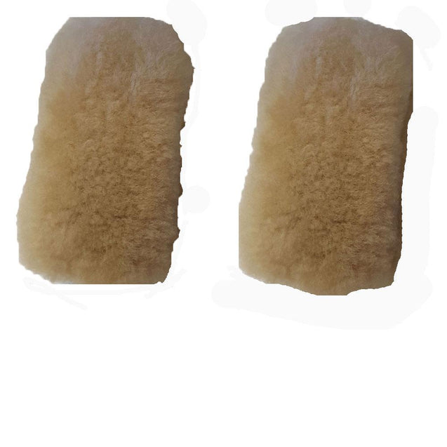 Merino Wool Sheepskin Cheek Pieces