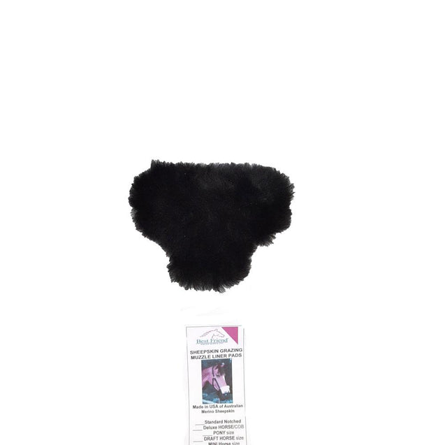 Merino Wool Sheepskin Have a Heart Triangle Nose Liner