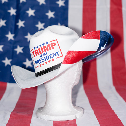 American Patriot Cowboy Hat - Trump is My President