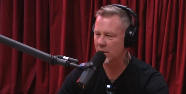 Joe Rogan Talks to James Hetfield about Getting Sober