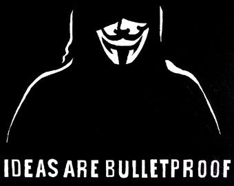 Yes... the is a V for Vendetta shout out!!