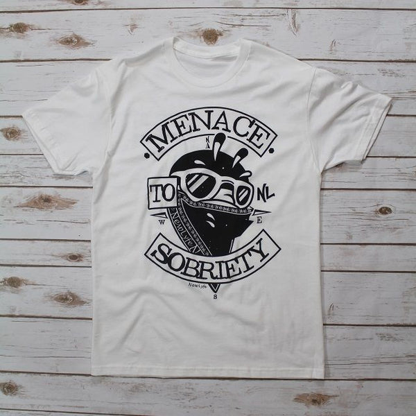 Menace to Sobriety Tee