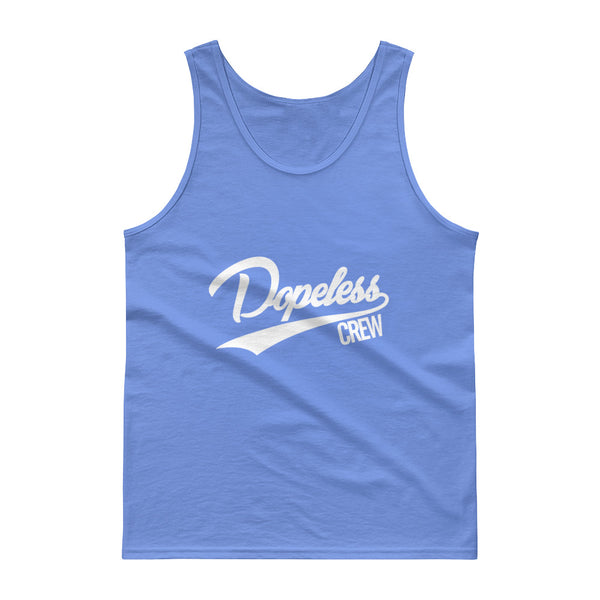 Dopeless Crew Tank top four colors with white letters