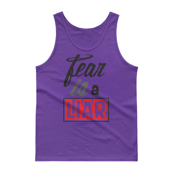 Fear Is a Liar Tank top with five colors