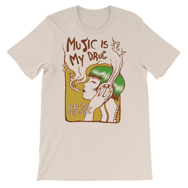 Music Is My Drug Tee