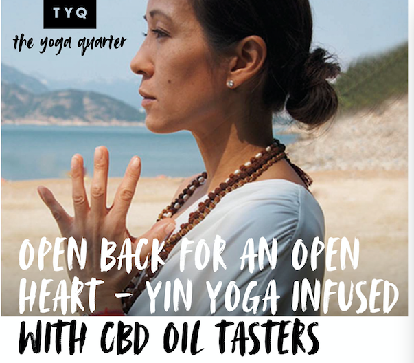 YIN YOGA infused with CBD - Sunday 26th January