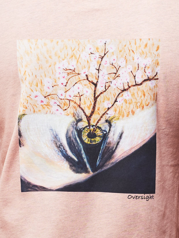 Peach Oversight Tee