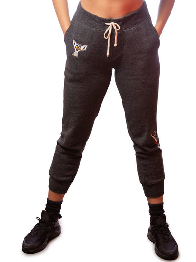 Women's Eco-black Sweatpants