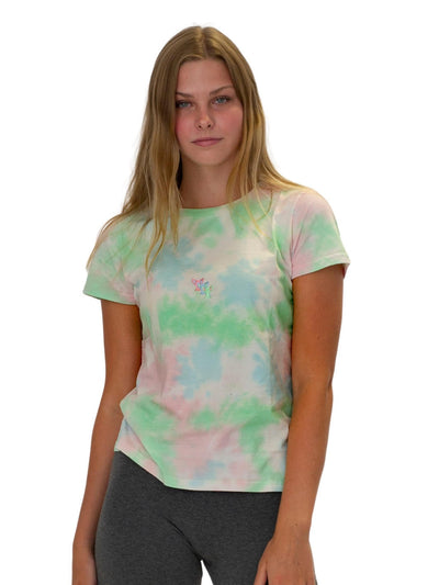 Women's Cotton Candy Tie Dye Tee