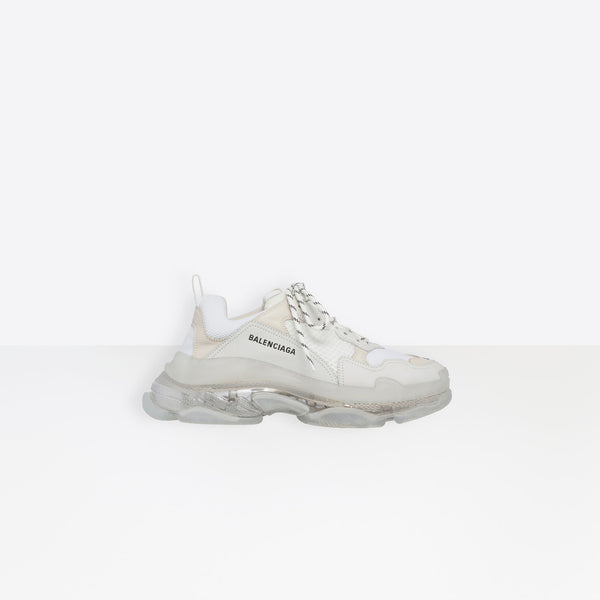Balenciaga Triple-S Clear Sole White