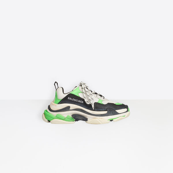 Balenciaga Triple S-Neon Green/Black