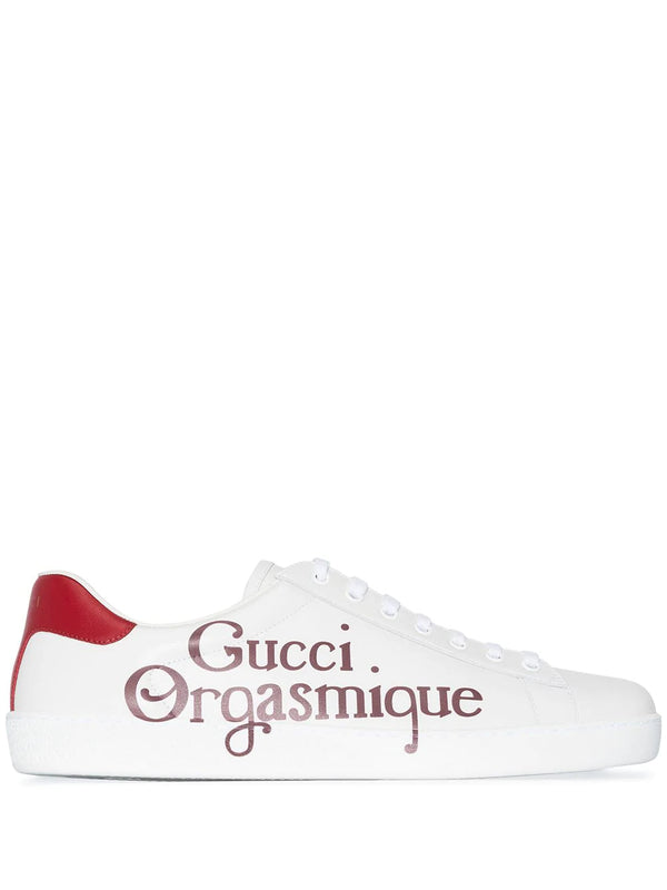Gucci Ace Orgasmique print sneakers