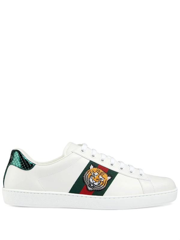 Gucci Ace tiger-appliqued sneakers