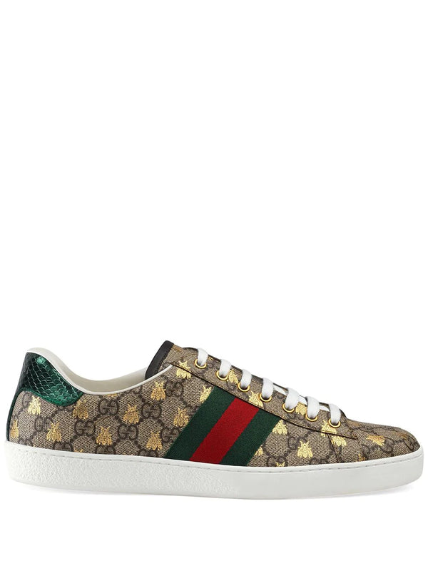 Gucci Ace GG Supreme bees sneaker