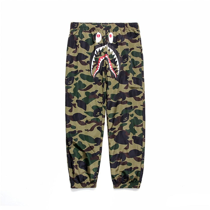 Aape Green Camo Track Pant