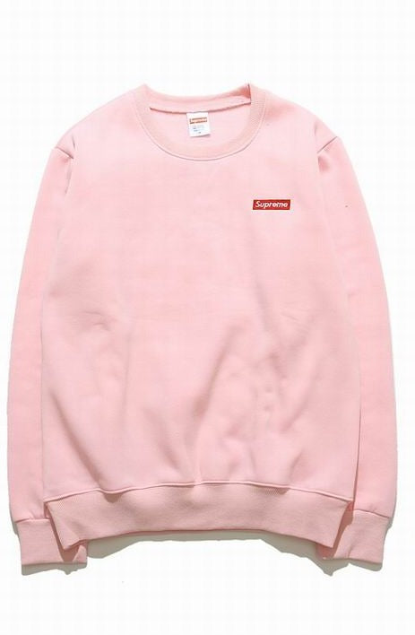 Supreme Crewneck Mini Box Logo Pink