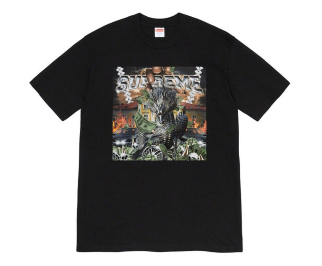 Supreme Dragon Tee Black