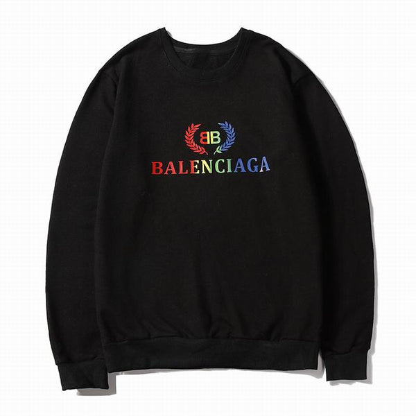 Balenciaga Colorful Logo Sweatshirt Black