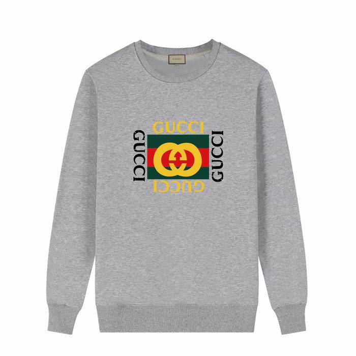 Gucci Brand Logo Sweatshirt Heather Gray