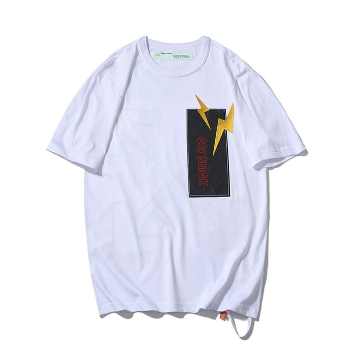 OFF-WHITE Reflectıve White Tee