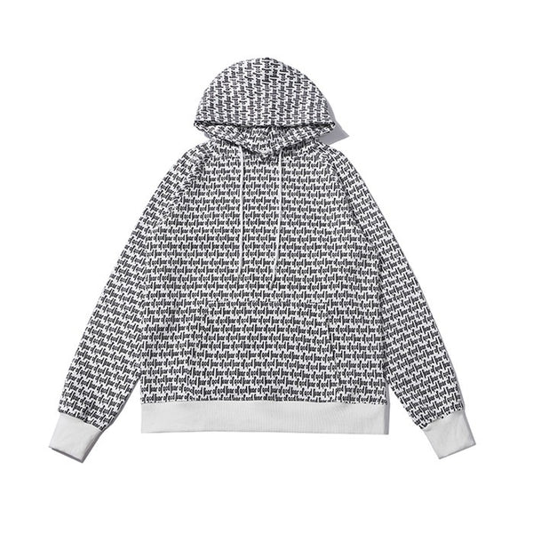 Fear Of God 6TH COLLECTION Brand Logo Print Hoodie White