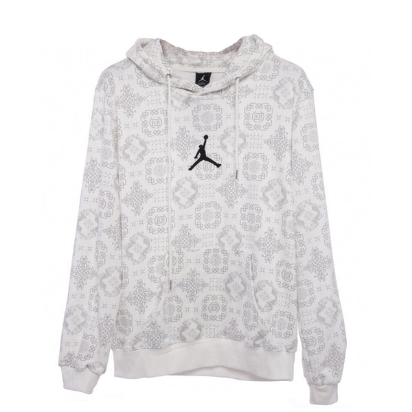 Clot x Air jordan Hooded Sweatshirt White