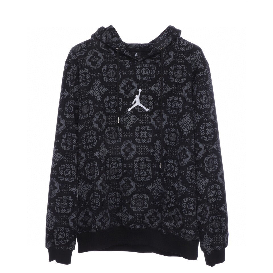 Clot x Air jordan Hooded Sweatshirt Black