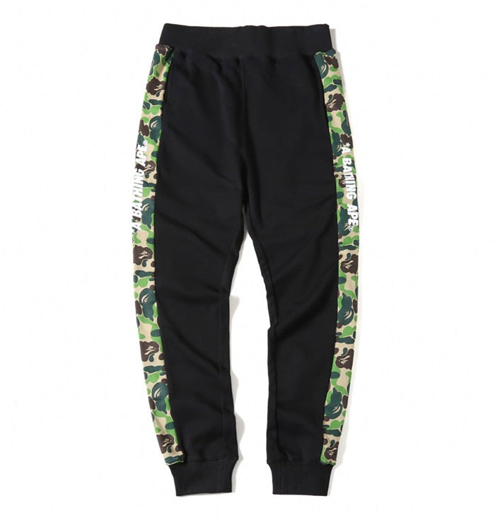 Bape Green Camo Sweat Pant
