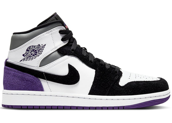 "Air Jordan 1 Mid SE ""Varsity Purple"""