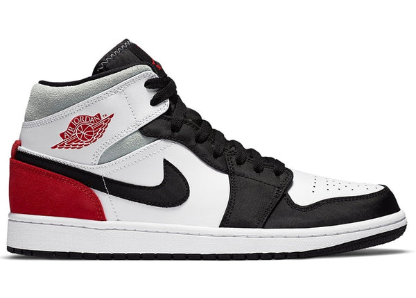 "Air Jordan 1 Mid SE ""Red Grey Black Toe"""