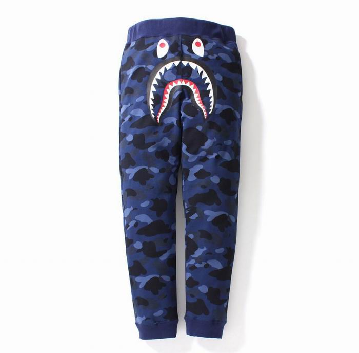 Bape Shark Blue Camo Sweat Pant