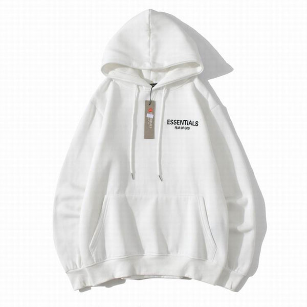 Fear Of God Essentıals Back Logo Hoodie