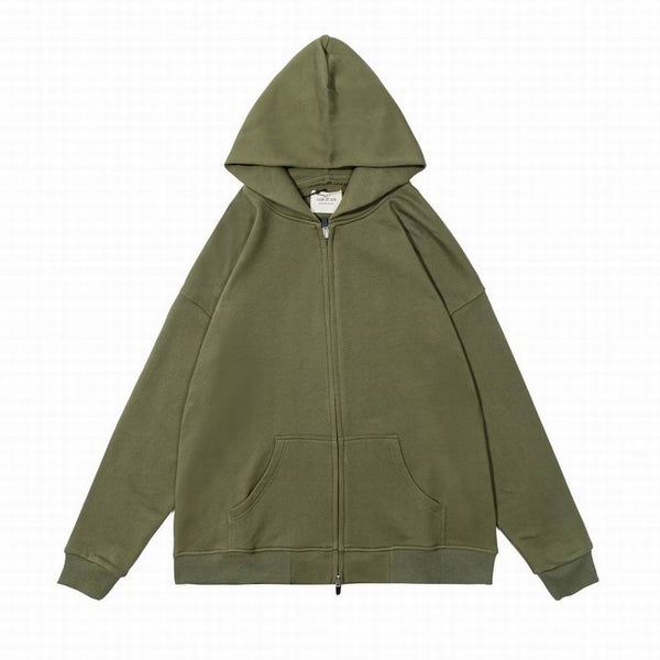 Fear Of God 6TH Collectıon  Zipper Hoodie Khaki
