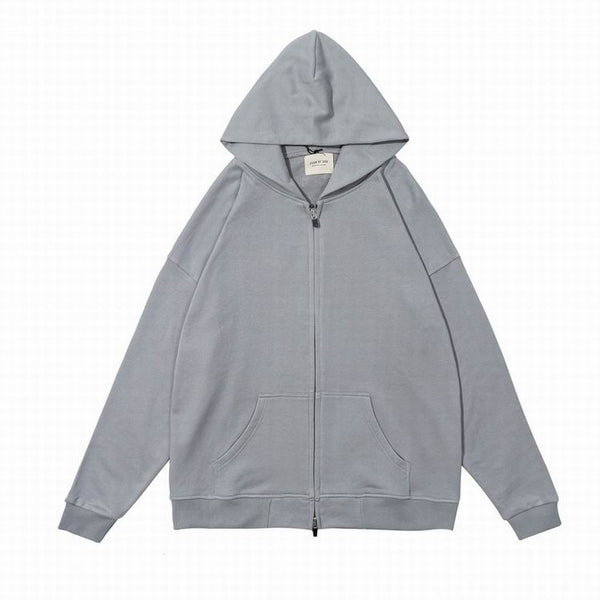 Fear Of God 6TH Collectıon Zipper Hoodie Gray