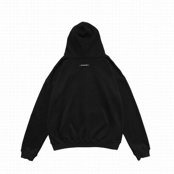 Fear Of God Essentıals Zipper Hoodie Black