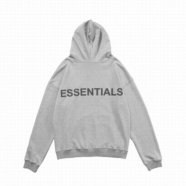 Fear Of God Essentıals Hoodie Heather Gray