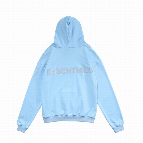 Fear Of God Essentıals Hoodie Baby Blue