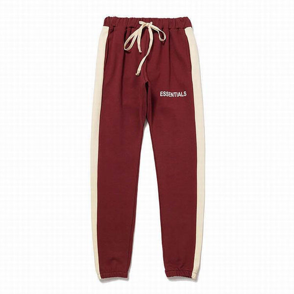 Fear Of God Essential Sweat Pant Burgundy/Beige