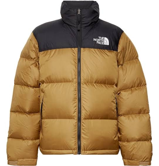 The North Face 1996 Retro Nuptse Jacket Brown