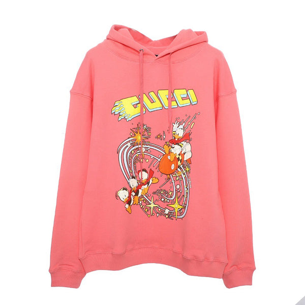 Disney x Gucci Hooded Sweatshirt Pink 21FW