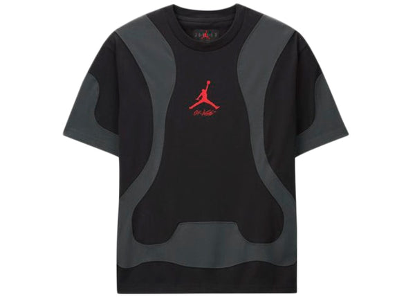 OFF-WHITE x Air Jordan Tee Black