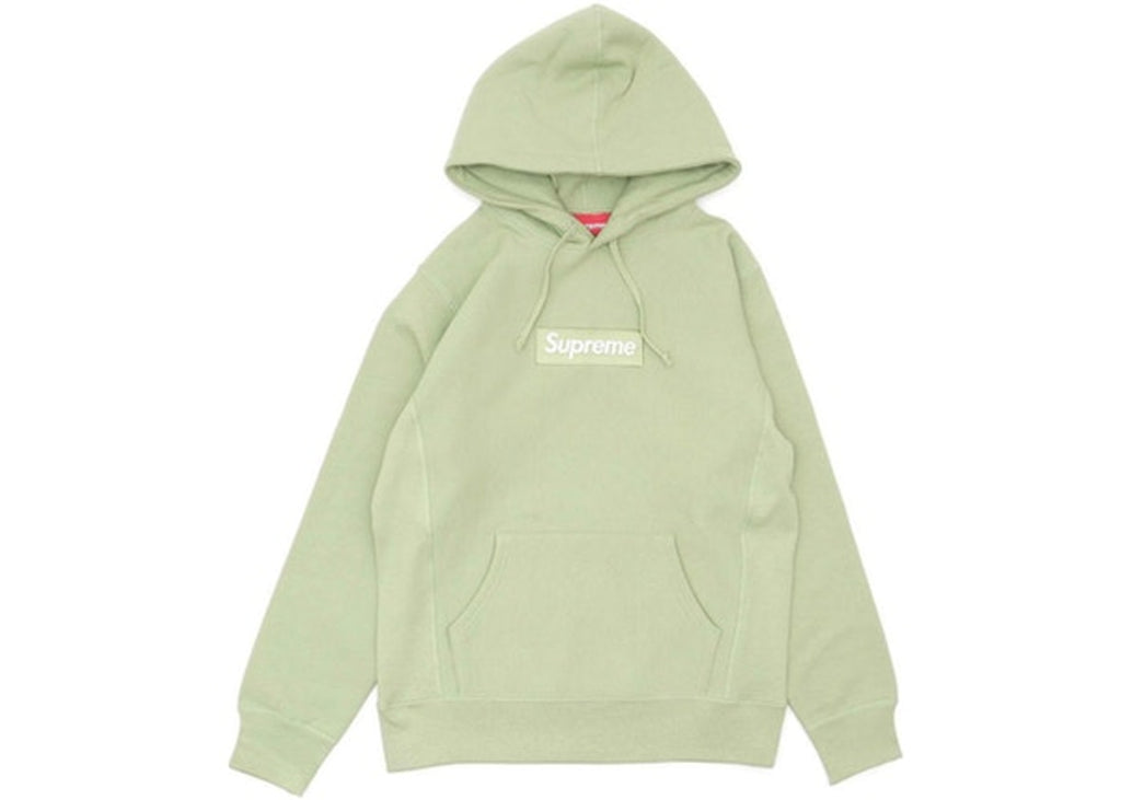 Supreme Box logo Green