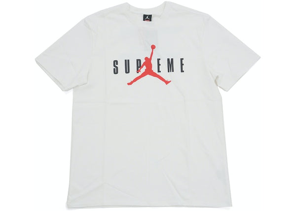 Supreme Air Jordan Tee White