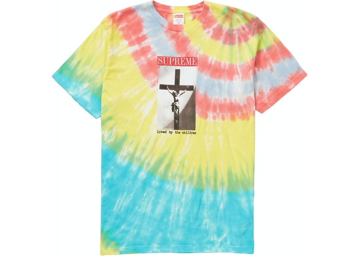 Supreme Loved By The Children Tee Heather Tie Die