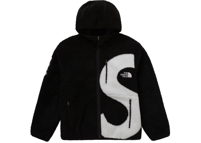 Supreme The North Face S Logo Fleece Jacket Black