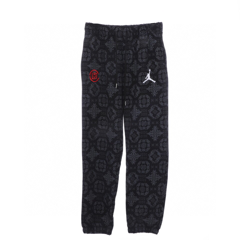 Clot x Air jordan sweat pant Black