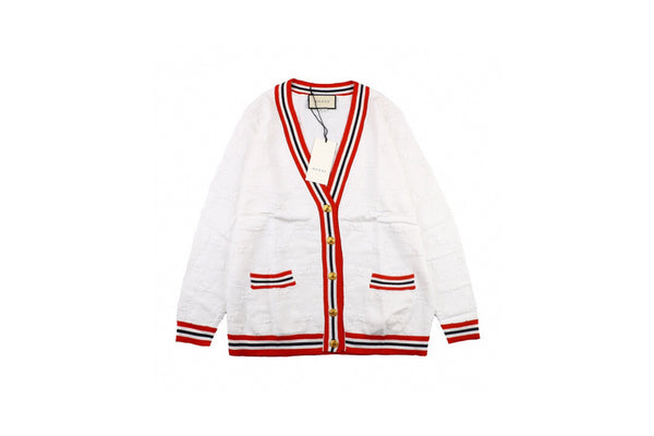 Gucci Sylvie Web knitted cardigan